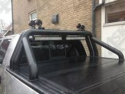 Led Light Bars gemonteerd op pickup