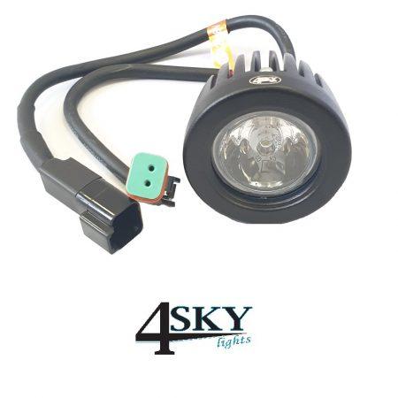 SK01 ronde compacte led verstraler