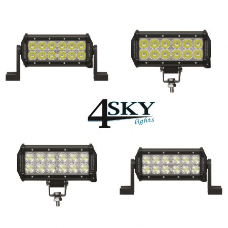Double classic 7 inchl led light bar