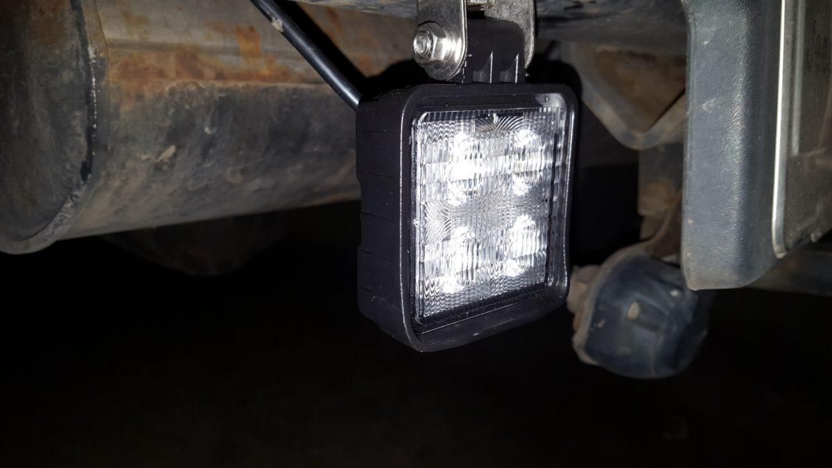 led werklamp R23 gekeurd