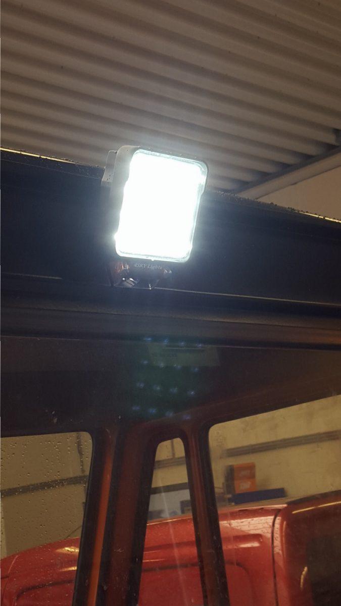 ECE R23 gekeurd led werklamp 4sky lights
