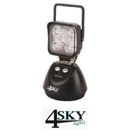 led werklamp oplaadbaar met accu 12V - 24V