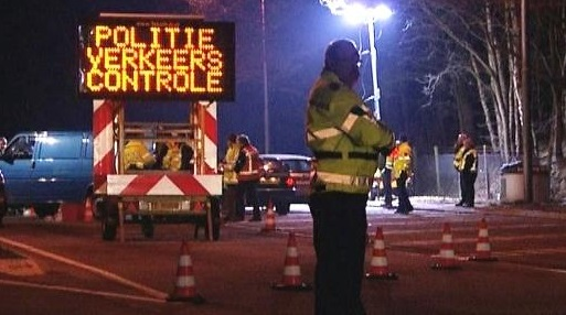 Politie controle Led verlichting