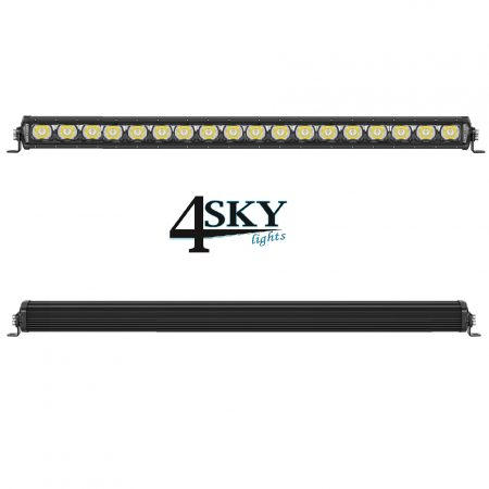 Black Edition 126 watt led light bar