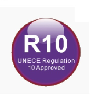 ECE-R10 typegoedkeuring 4SKY LIGHTS