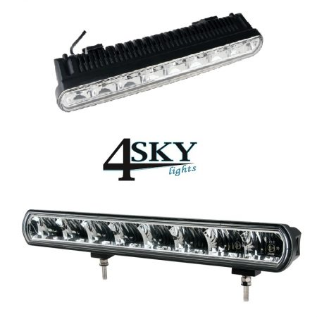 Ledbar Zero Glare Uno 80 watt led light bar