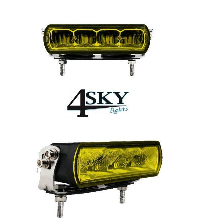 Ledbar Zero Glare Yellow 20 watt