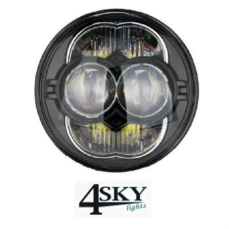 led koplamp 5,75 inch black