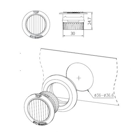 schema montage ant pro