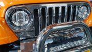 Ledbar zero glare uno op Jeep Wrangler R112 gekeurd