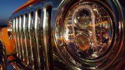 Led koplamp gekeurd met R112 Jeep Wrangler TJ