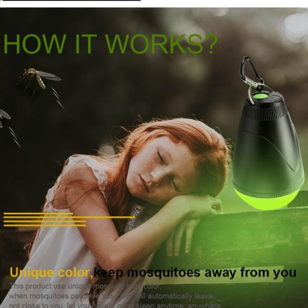 ANT-20 anti muggen led-lamp oplaadbaar met afstandsbediening