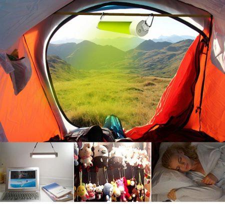 Anti muggenlamp is ideaal voor kamperen