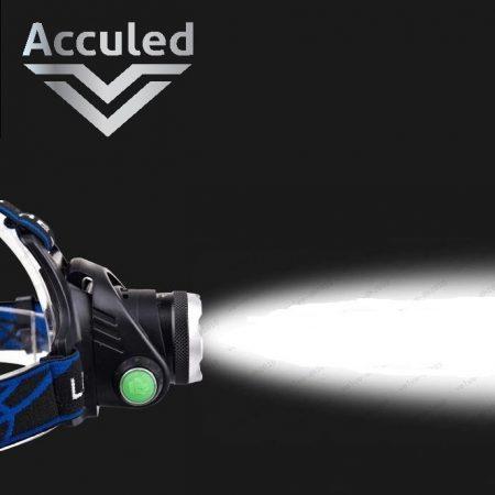 Led hoofdlamp incl. batterijen oplaadbaar