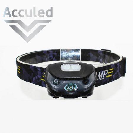 led hoofdlamp met ingebouwde sensor