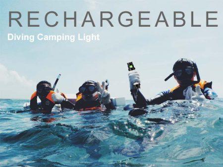 Led-lamp met batterij oplaadbaar en met usb