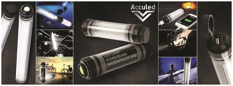 Acculed heeft mooie producten die toonaangevend zijn op het gebied van led en accu