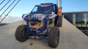 Led Light bar R112 gekeurd op Buggy