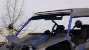 Led Light bar gebogen op Can Am Buggy.