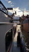 SK8200 Led breedstraler op binnenvaartschip