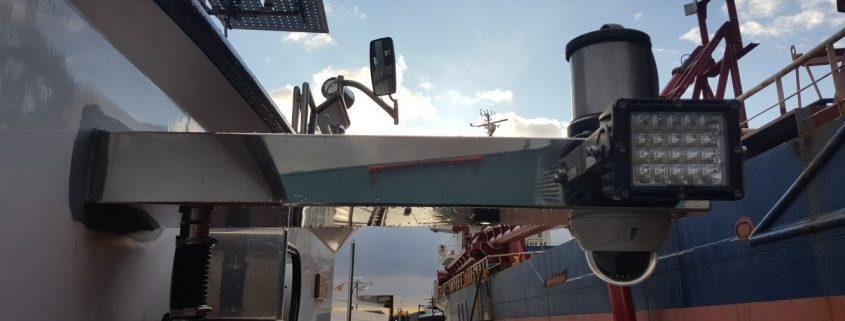 Led verstraler Led breedstraler en Ledbar in scheepvaart