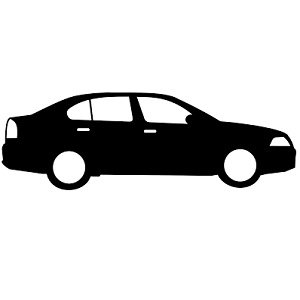 Impressie auto met ledbar , led verstralers