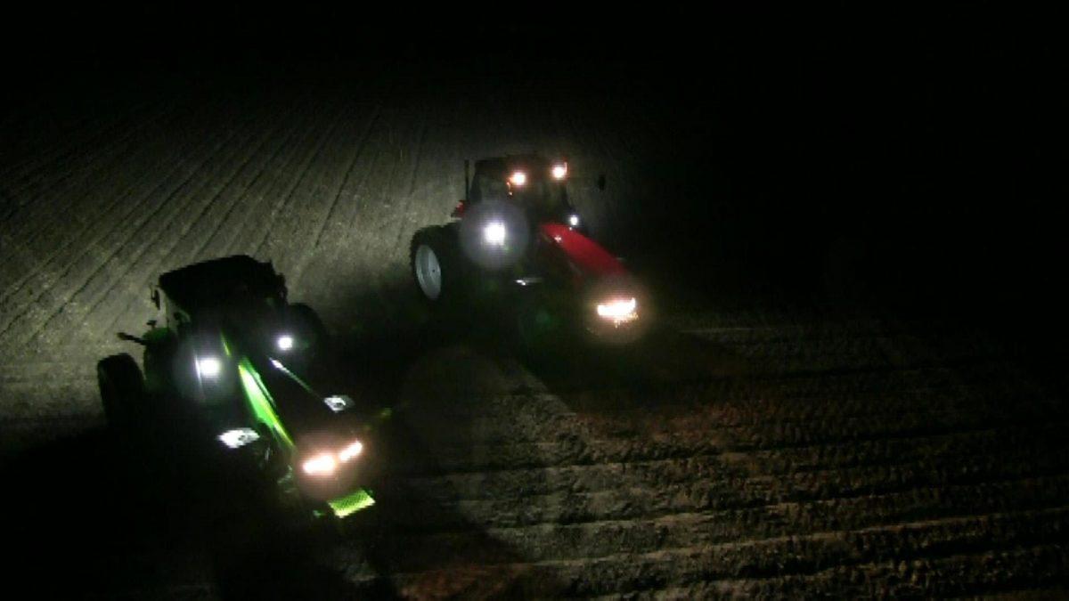 Led werklamp biedt veel voordelen op land