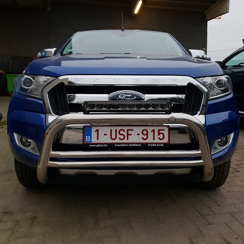 Led Light bar op Ford Ranger Pickup