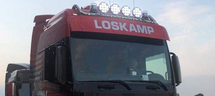 Led verlichting op truck 12V 24V