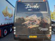 Can AM op servicebus van Timola Autosport
