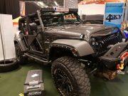 Dima4x4 2018 met Jeep Wrangler JK Barricade en led light bar 4sky Lights