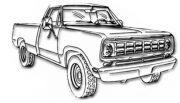 Dodge W200 Pickup Truck 4x4