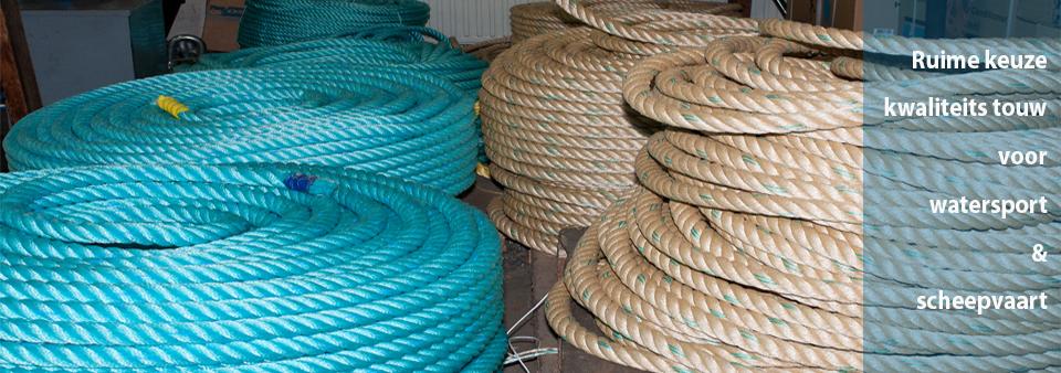 Kruyf watersport in Maasbracht touw Scheepvaart