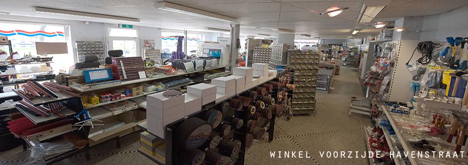 Kruyf watersport in Maasbracht showroom winkel