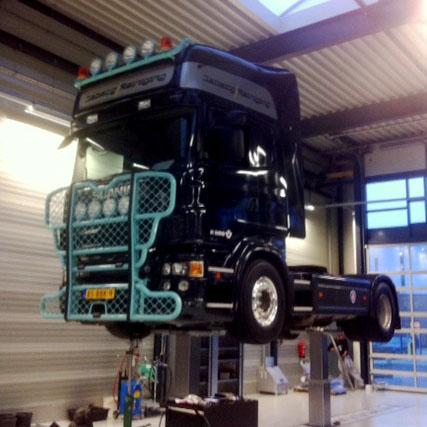 Vrachtwagen onderhoud bij Malex