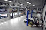 werkplaats The Autosport Company werk[laats