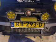 Led verstralers SK103 en ledbar gekeurd 4SKY Lights Noordkaap Challenge 2018