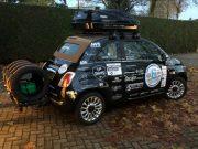 Fiat 500 ingezet in Noordkaap Challenge