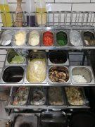 RVS rek voor eten restaurant gemaakt door sam den Ouden uit helmond