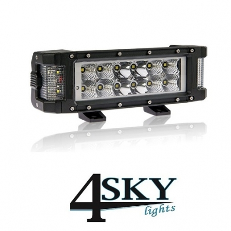 72 watt Duo Excellent led bar 4sky lights verwarmd glas - R10 gekeurd