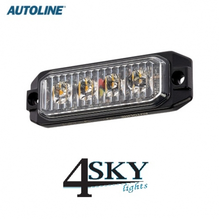 Autoline 12 watt Led flitser