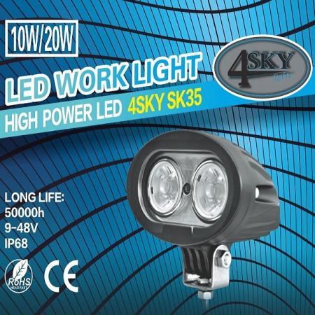 SK35 werklamp als breedstraler of verstraler