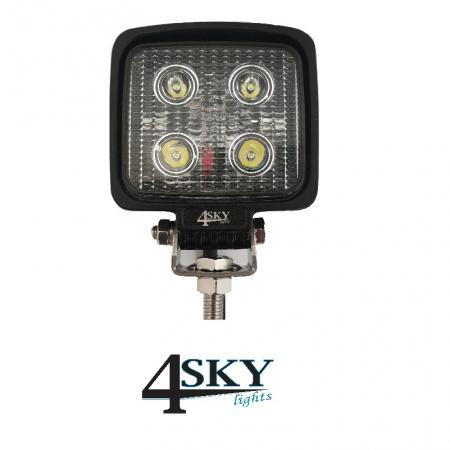 Compacte Led werklamp R10 gekeurd